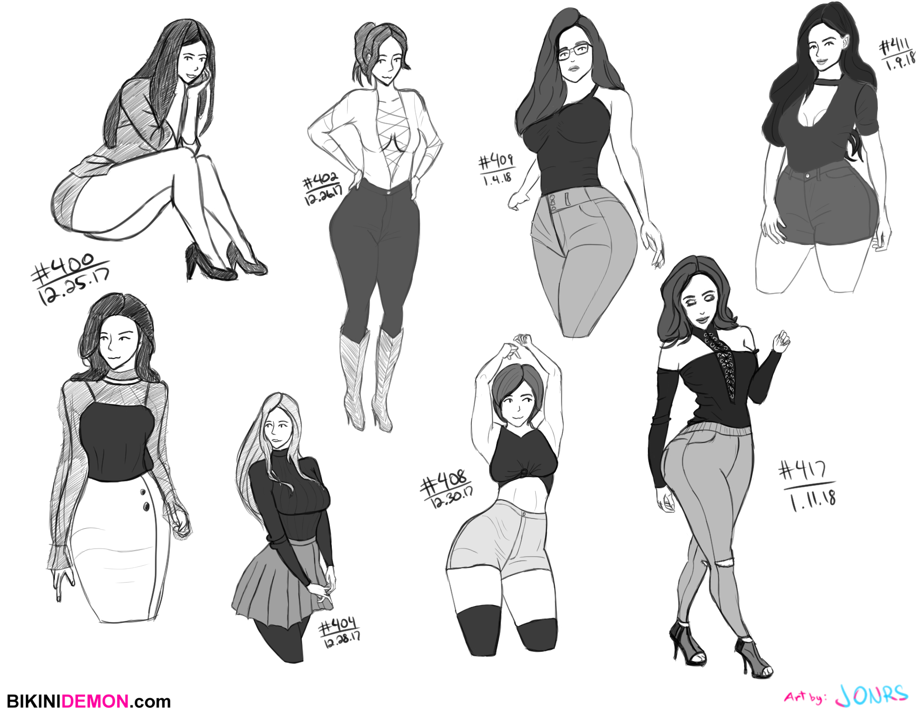 sketch 8 – fashion studiez