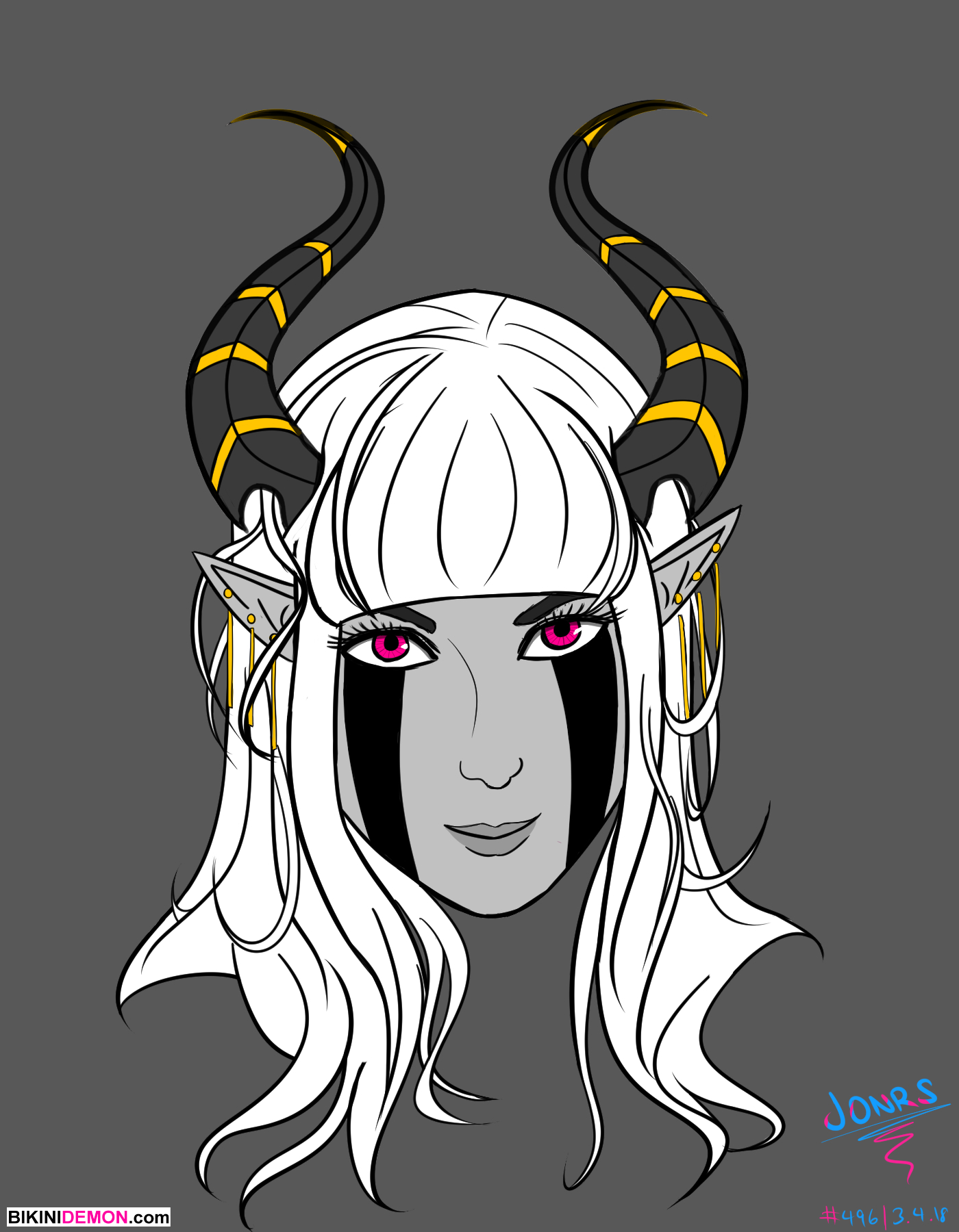 demon lady profile