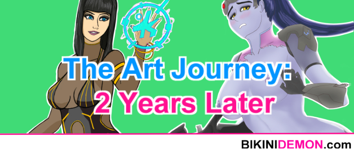 The Art Journey: 2 Years Later (+updated advice for beginner artists)