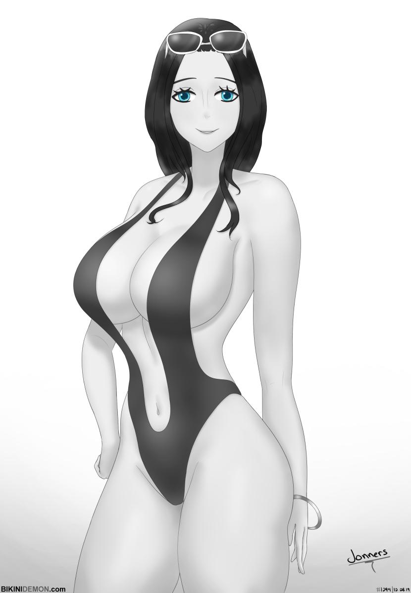 robin swimsuit_bw