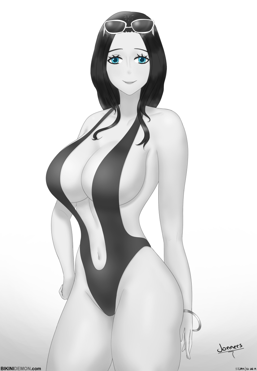 robin swimsuit_bw